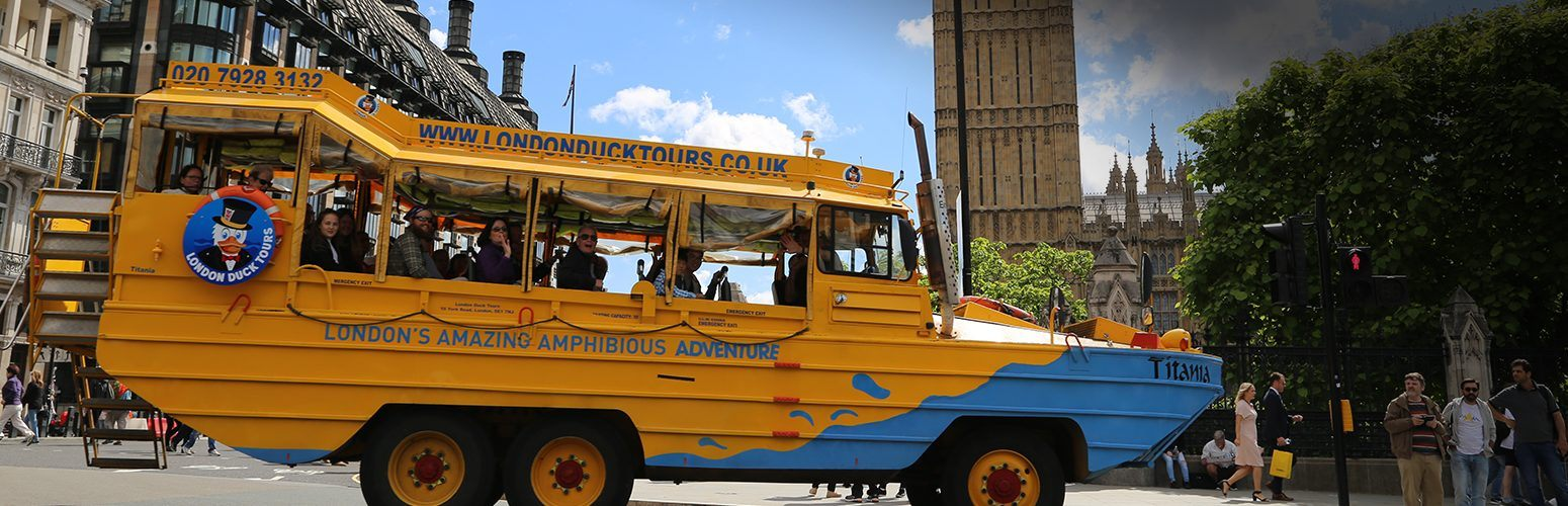 London Duck Tour Bus