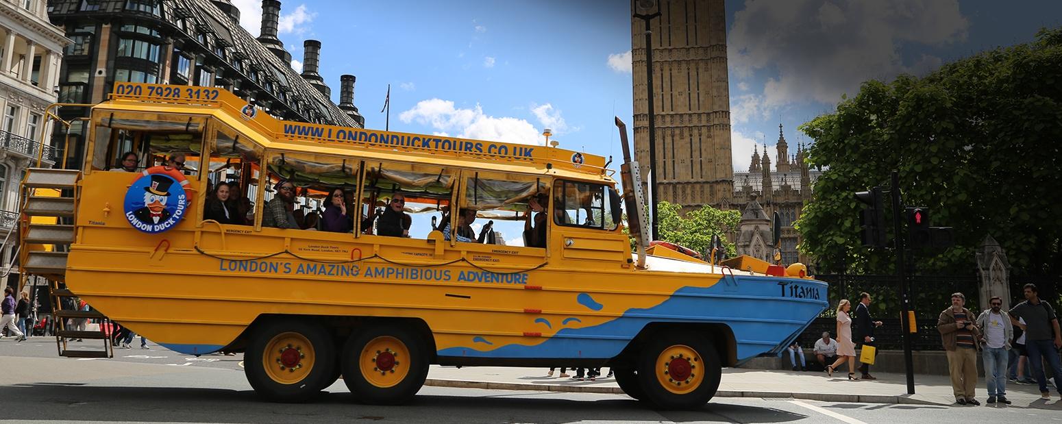 London Duck Tour Bus