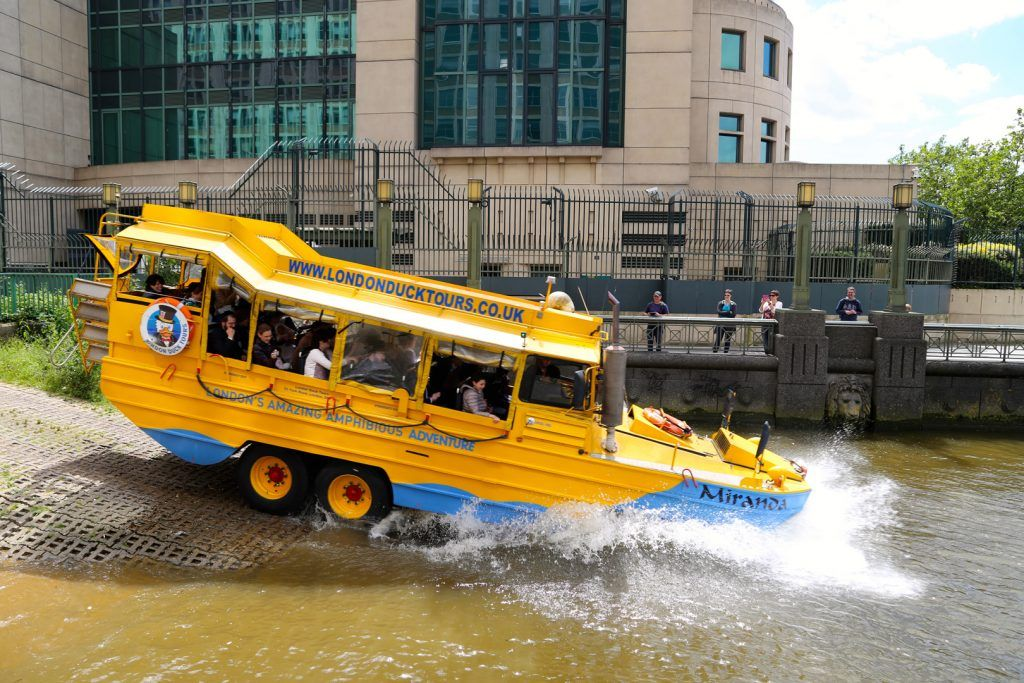 London Duck Tours Exciting Amphibious Tours Of London