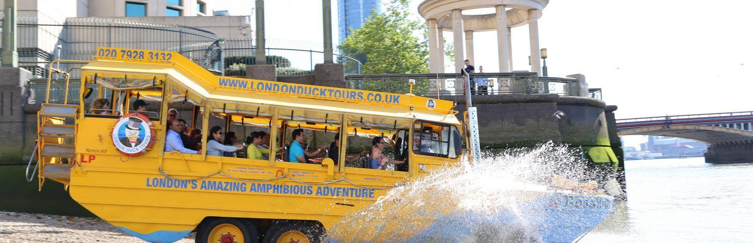 duck tours splash