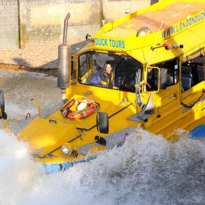 london duck tour splashdown