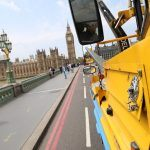 big ben viewed from a duck tour