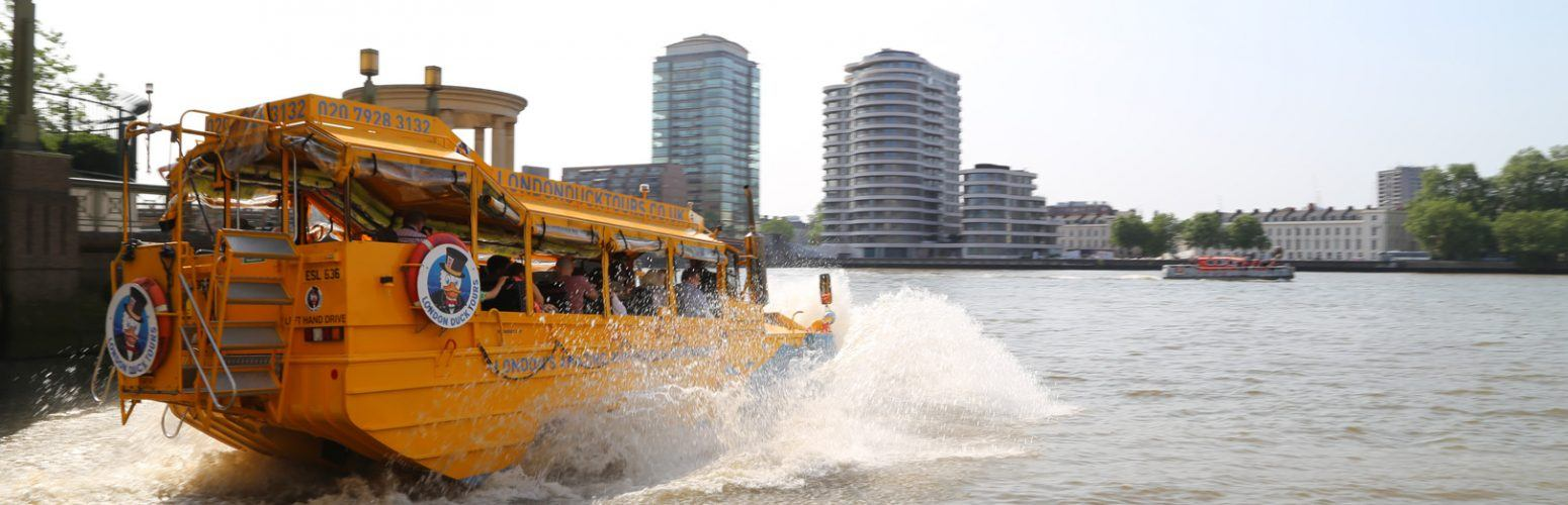 splashdown london city tour