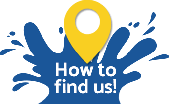 How to find us logo